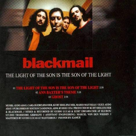 "Die Blackmail CD ""The Son of the Light"""