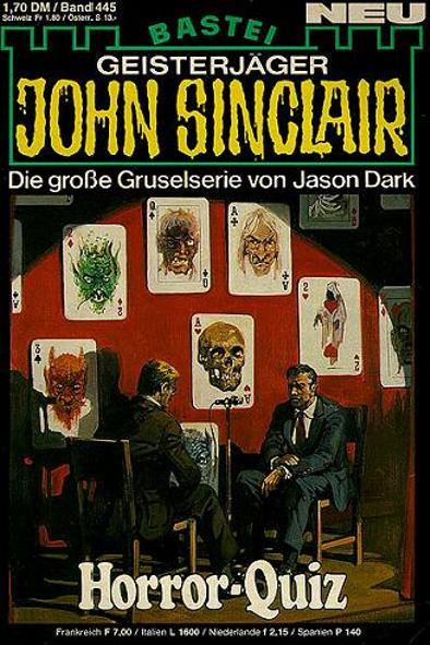 John Sinclair Nr. 445: Horror-Quiz