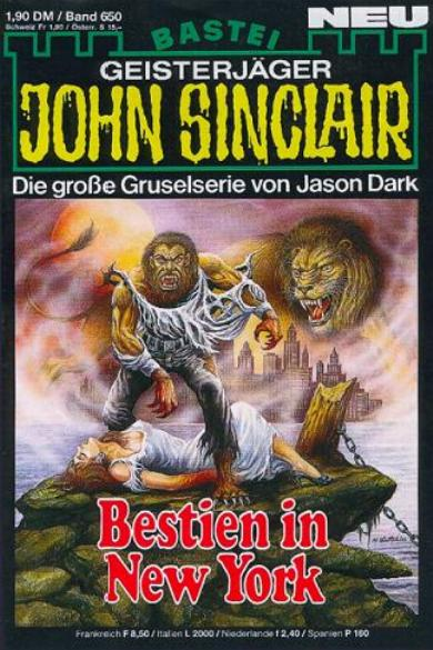 John Sinclair Nr. 650: Bestien in New York