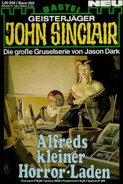 John Sinclair Nr. 653: Alfreds kleiner Horror-Laden