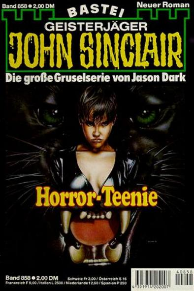John Sinclair Nr. 858: Horror-Teenie