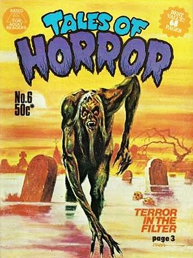 """TALES OF HORROR"" Nr. 6 (Oktober 1976)"