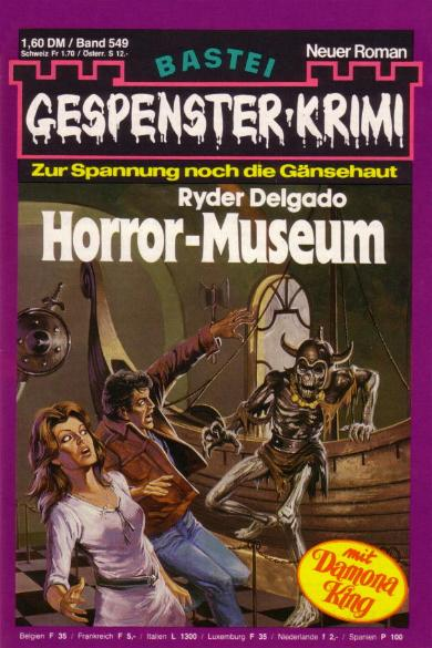 Gespenster-Krimi Nr. 549: Horror-Museum