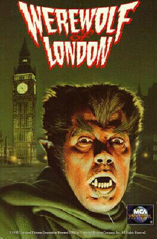 """Werewolf of London"" DVD-Cover"