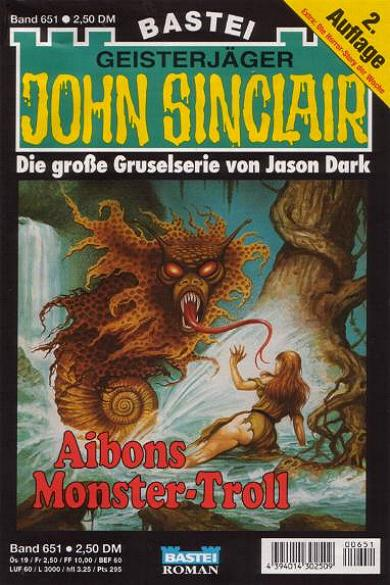 John Sionclair Nr. 651 (2. Auflage): Aibons Monster-Troll
