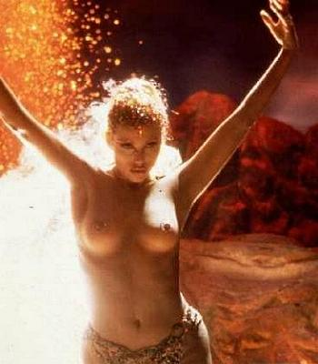 "Elizabeth Berkley in ""Showgirls"""