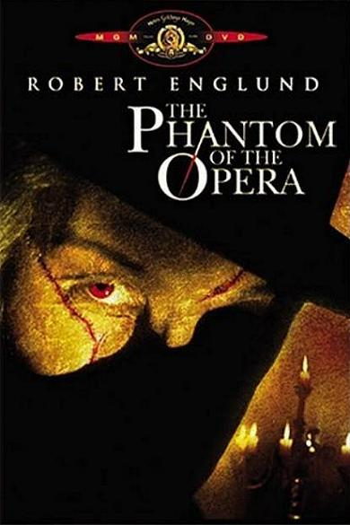 """The Phantom of the Opera"" DVD-Cover"