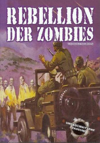 """Rebellion der Zombies"" - DVD Cover"