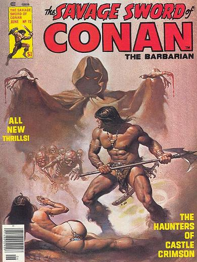 """THE SAVAGE SWORD OF CONAN"" Nr. 12"