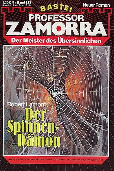 Professor Zamorra Nr. 123: Der Spinnen-Dämon