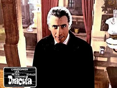 "Christopher Lee in ""Dracula"" (Aushangbild)"